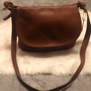 Coach Bucket Saddle Rare Fletcher Leather Purse